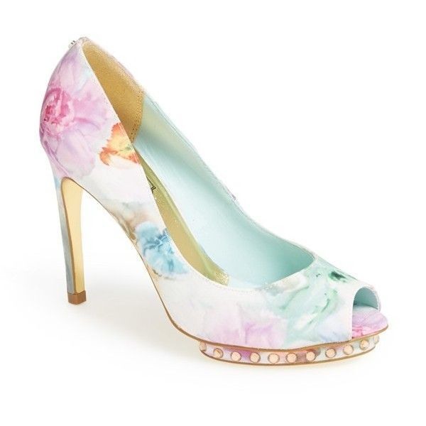 Ted Baker London 'Leonar' Pump (  132)   liked on Polyvore featuring  (  9e57bc