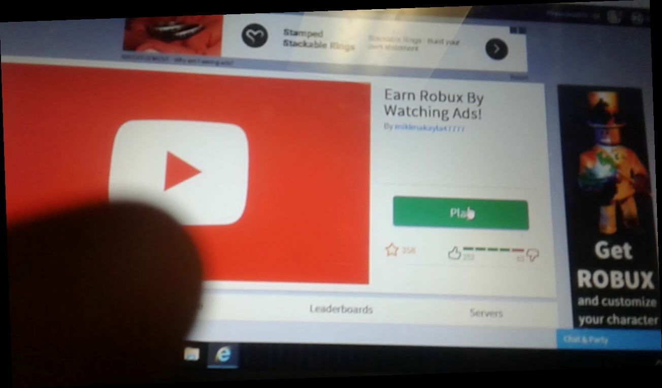 Roblox Watch Ads To Make Robux Roblox Free Robux By Watching Ads V 2020 G