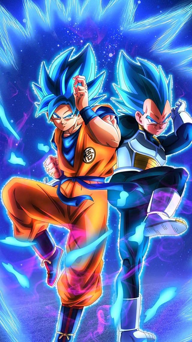 Goku E Vegeta In 2020 Dragon Ball Wallpapers Anime Dragon Ball Super Dragon Ball Wallpaper Iphone