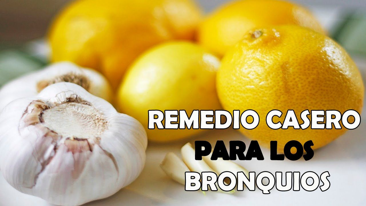 Remedios Caseros Para Curar Bronquitis Cronica