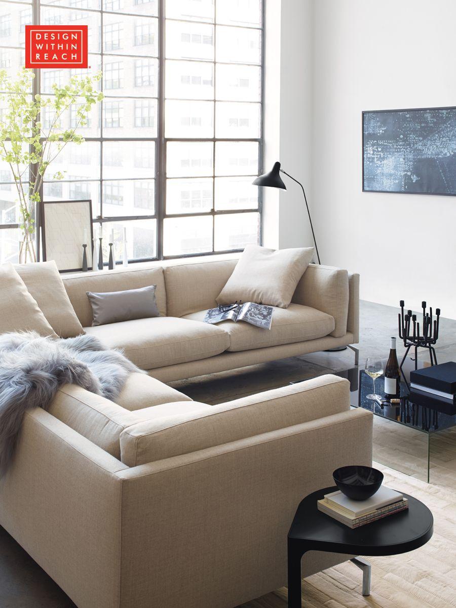 Como Corner Sectional | Pinterest | Corner, Living rooms and Room