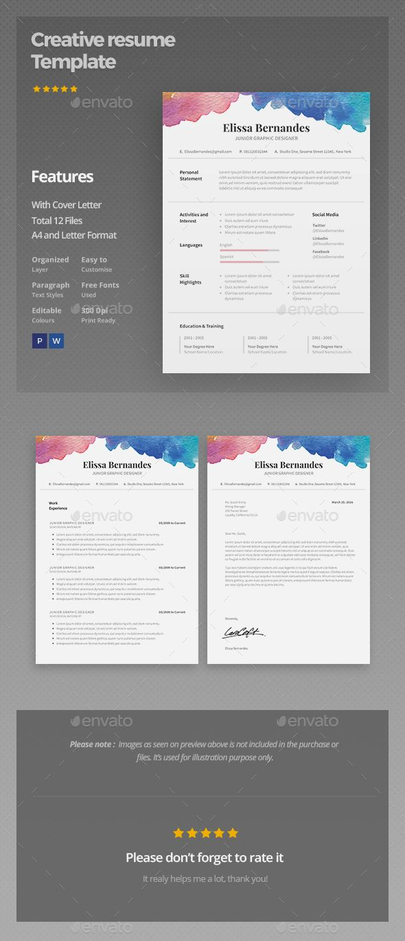Resume Template | Currículum