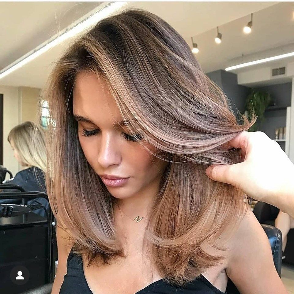 Hair Colors And Styles For Medium Hair Length In 2020 Hair Color For Dark Skin Summer Hair Color Brunette Hair Color
