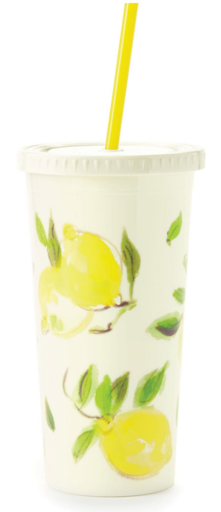 Kate Spade New York Lemon Tumbler