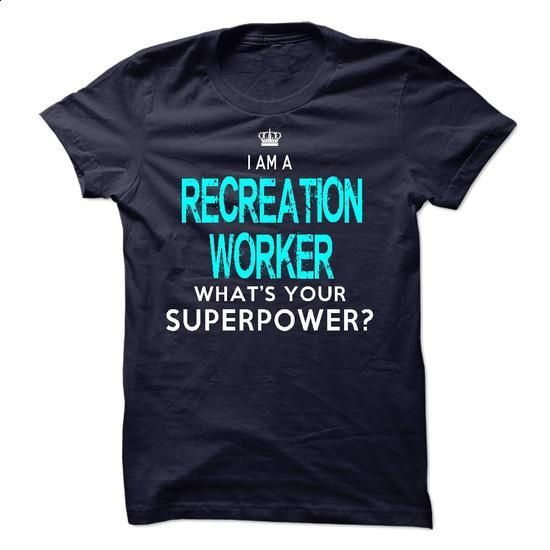 Im A/An RECREATION WORKER - #sweatshirt you can actually buy #sueter sweater. GET YOURS => https://www.sunfrog.com/LifeStyle/Im-AAn-RECREATION-WORKER-34002578-Guys.html?68278