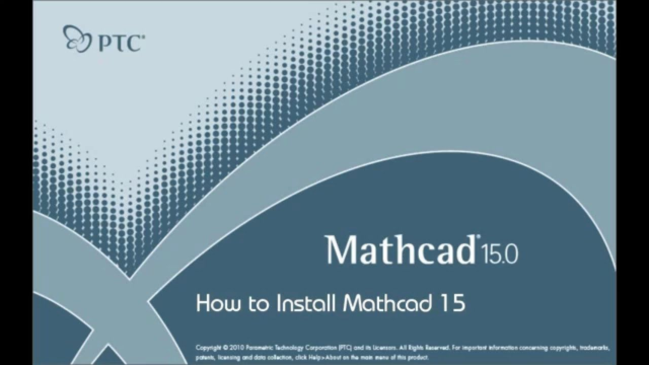 How To Install Mathcad 15 Full Civil Engineering Math Notation Installation
