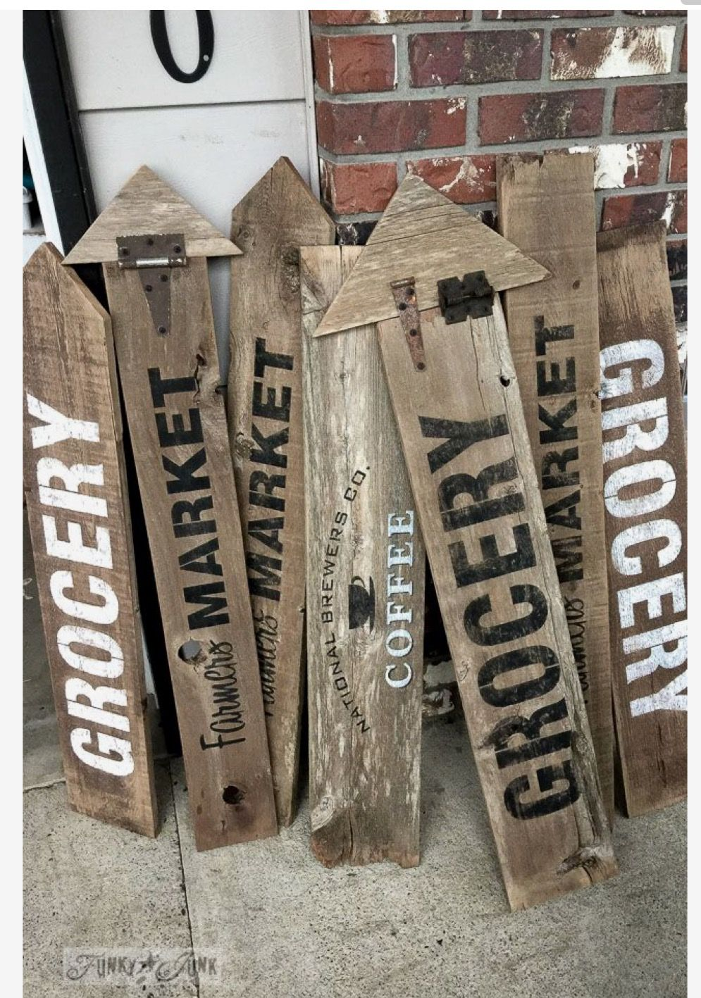 The Idea A Signs Pinterest Wooden Signs Diy And Signs
