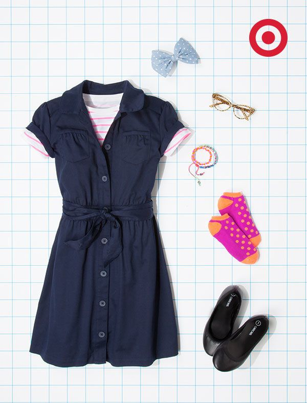 School uniform dress styles