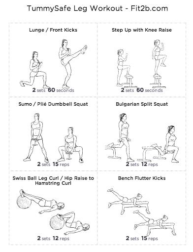 74d0bde238d TummySafe Lower Body Workout by fit2b.com …