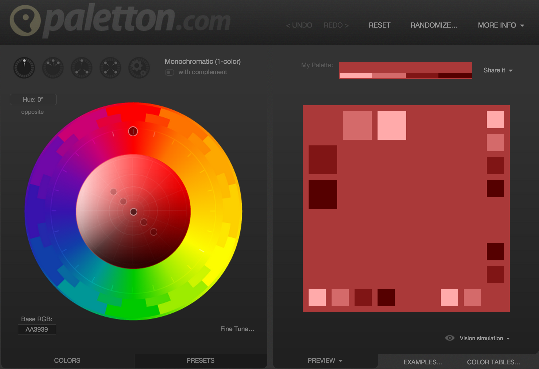 Color Scheme Designer paletton color scheme designer | color | color schemes