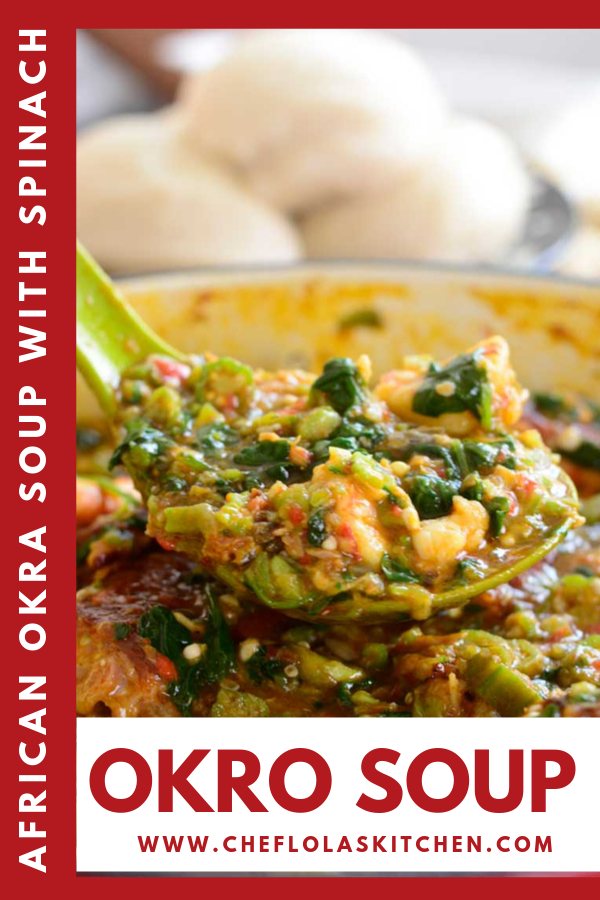 Okro Soup Recipe With Images Easy Soup Recipes African Food
