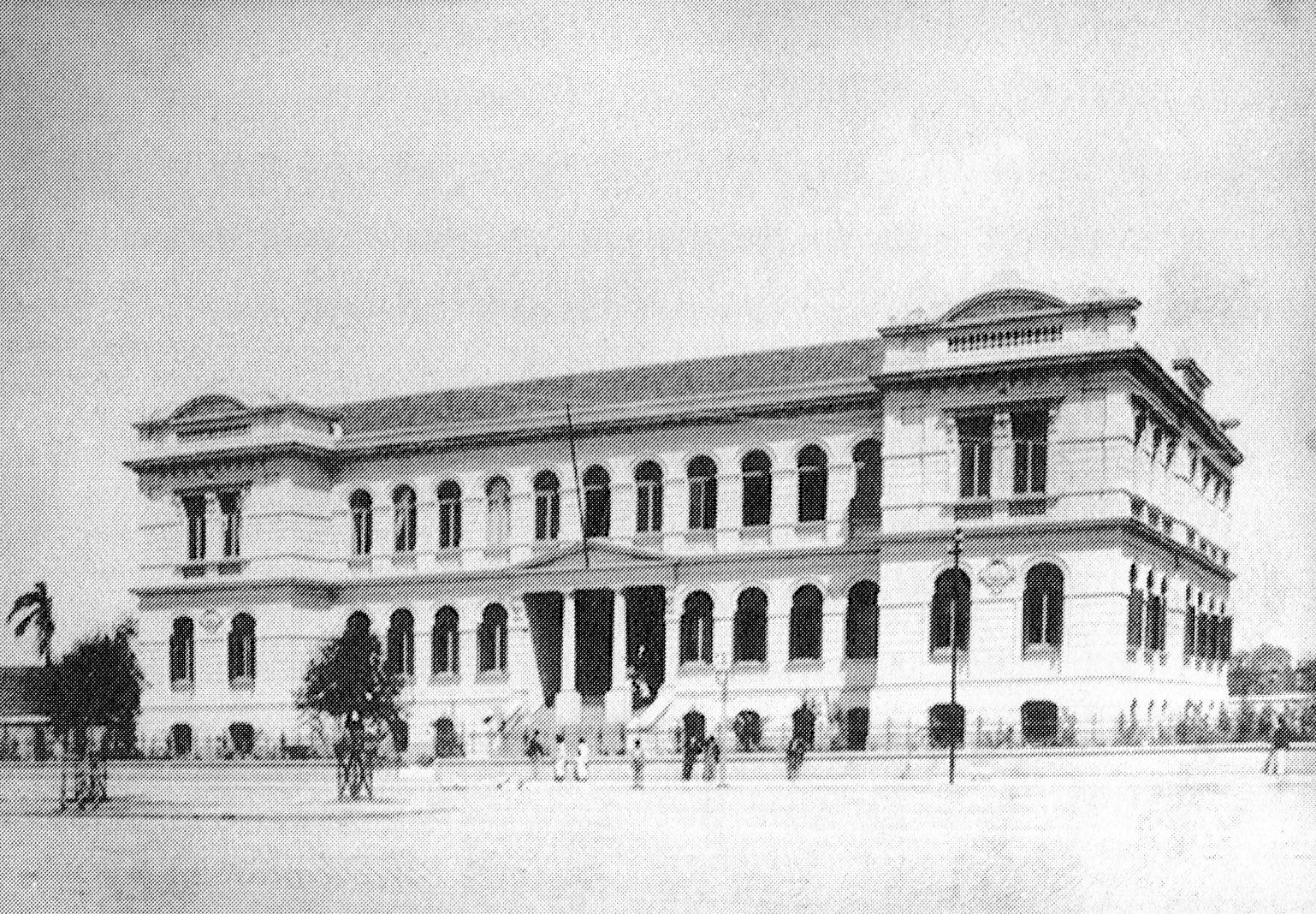 Final do século 19 - Escola Modelo do Brás.
