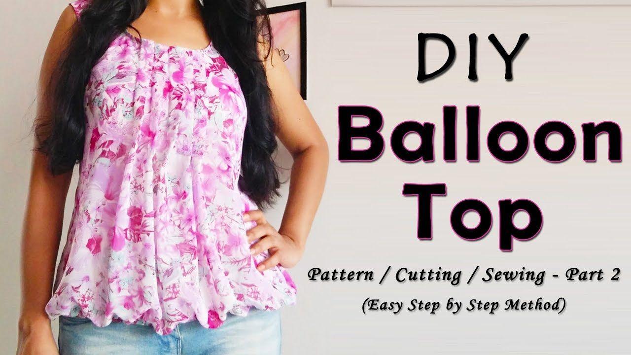 1ac3ae4d9d5 DIY Balloon Top