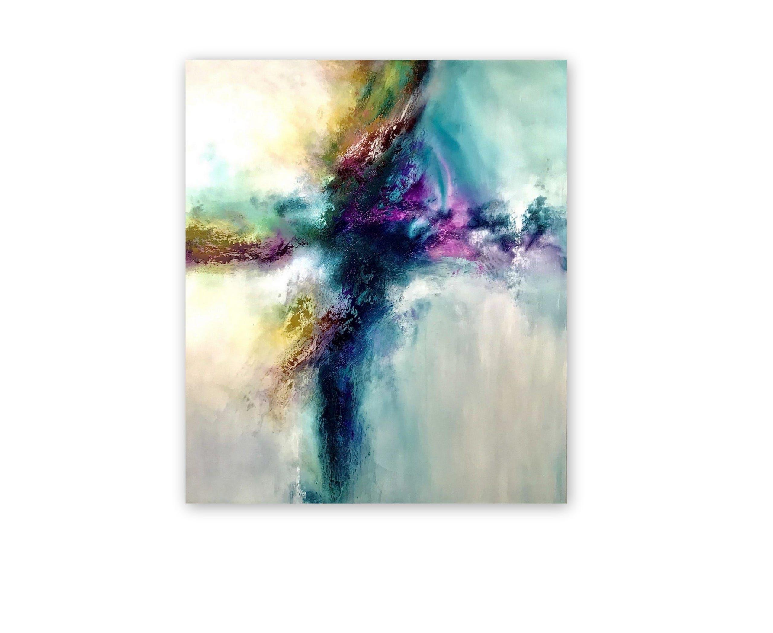 art abstract abstrakt modern kunst bilder acryl malerei design decor michaela jellinek maler resin acry in 2021 moderne spanischer