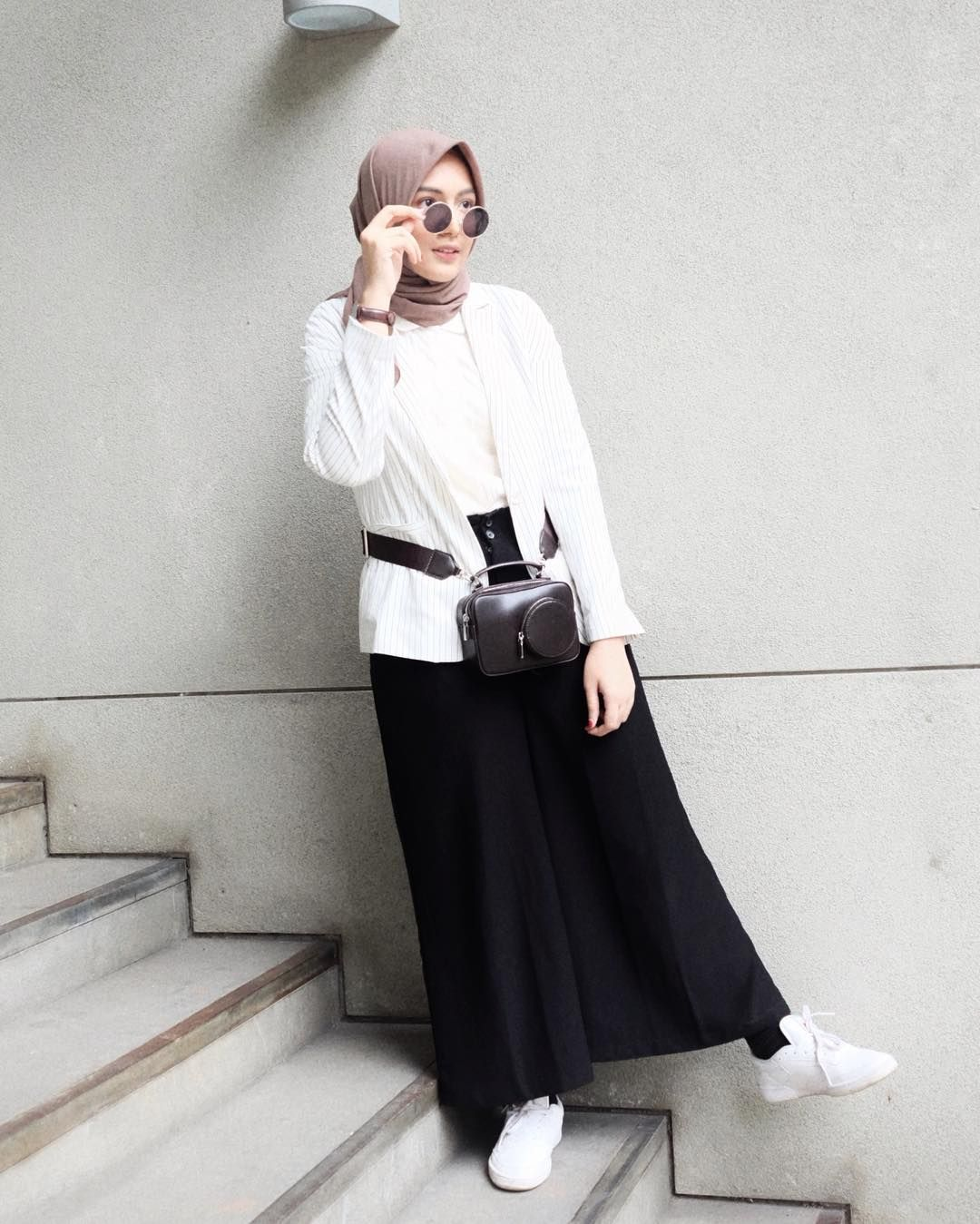 Style Hijab Casual Simple Rok