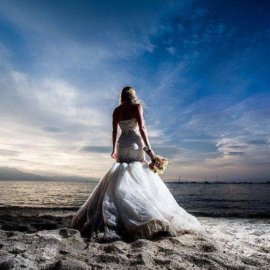 Stunning Lake Tahoe beach retreat wedding with gorgeous views!