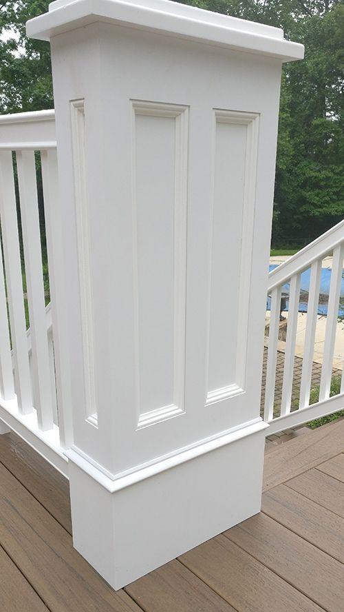 Best Newel Post Wraps Newel Posts Porch Pillars Millwork 400 x 300