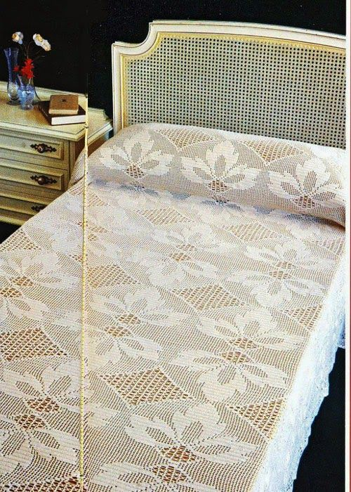 Crochet: Bedspread d0 | Revistas | Pinterest