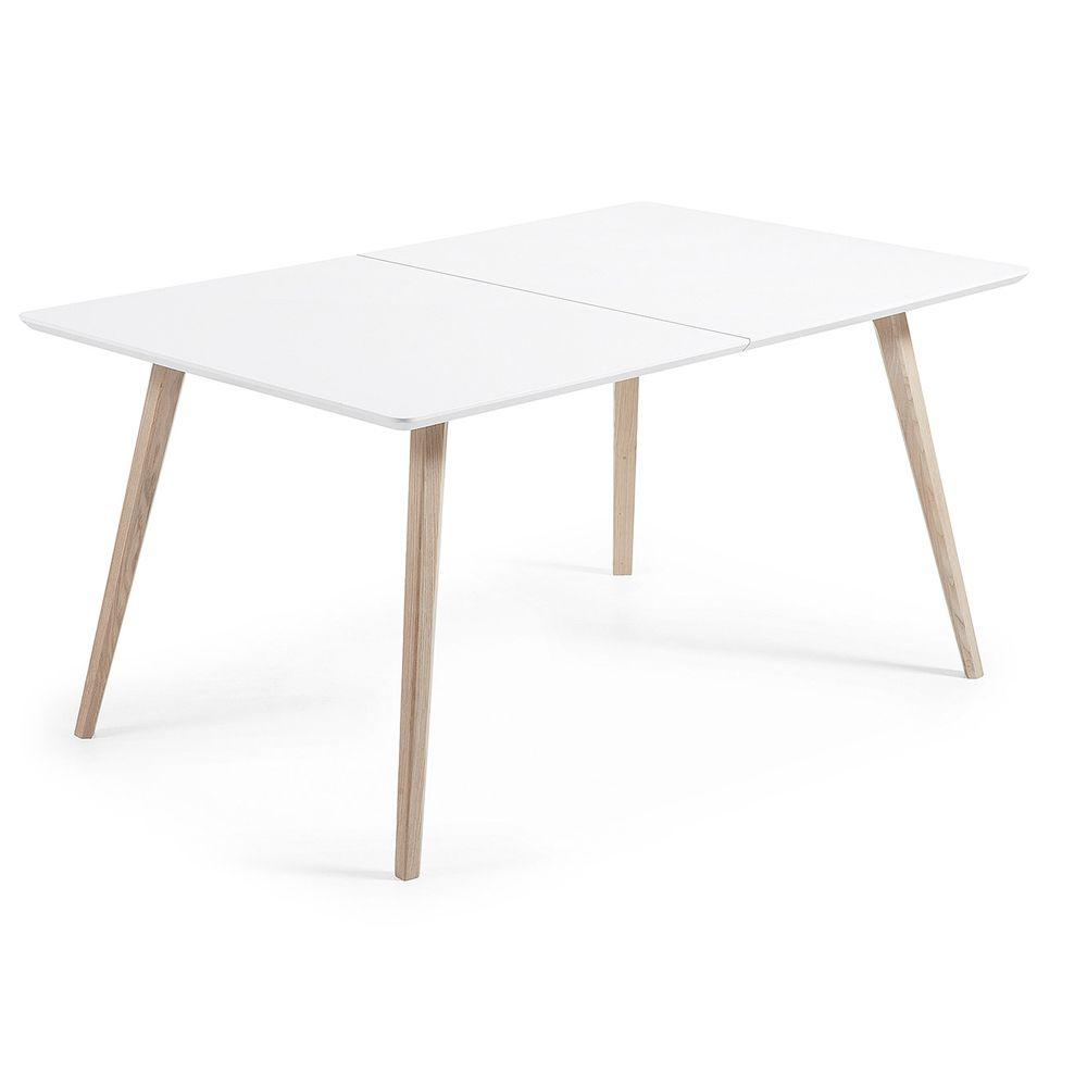 Speisen Modernen Weißen Holz Ausziehbaren Tisch Acer Ausziehbarer Tisch,  Esstisch Ausziehbar, Esszimmer, Essen
