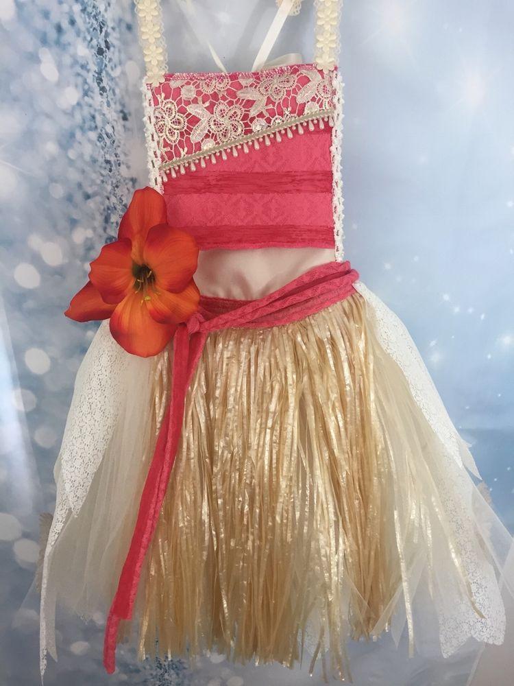 Adorable Moana Tutu dress fits Girls 7/8 FAST-SHIPPING # ...