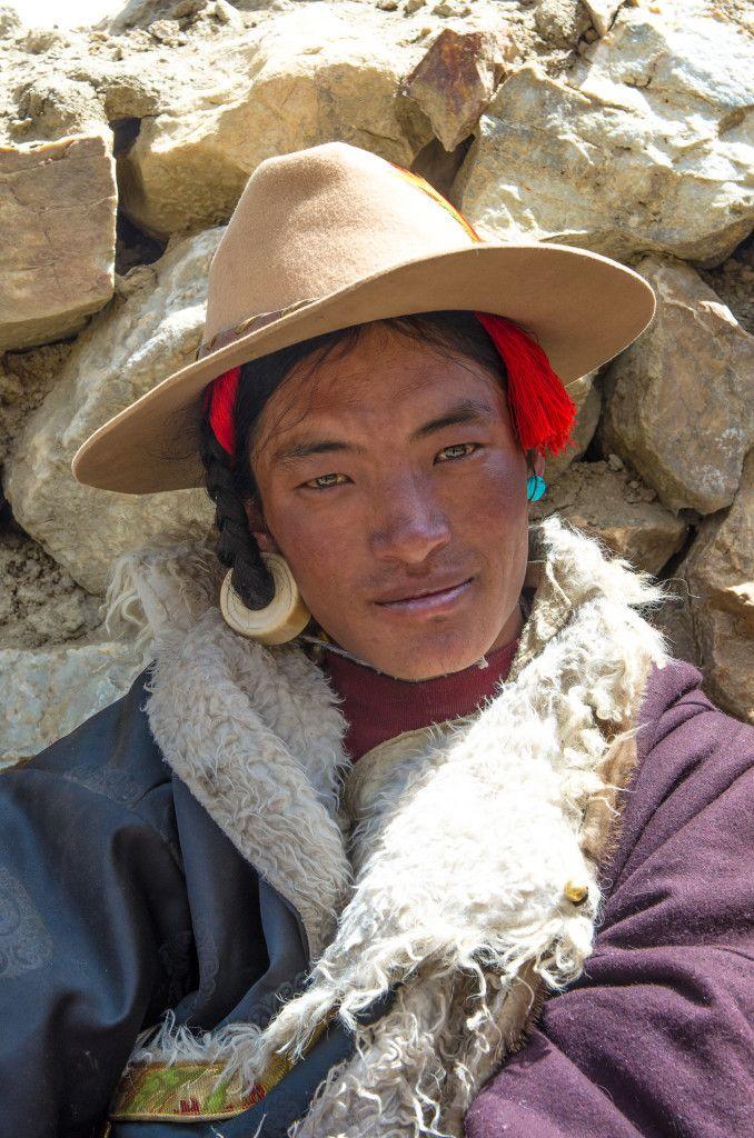 Tibetan Men from the Everest Region | The Land of Snows ...
