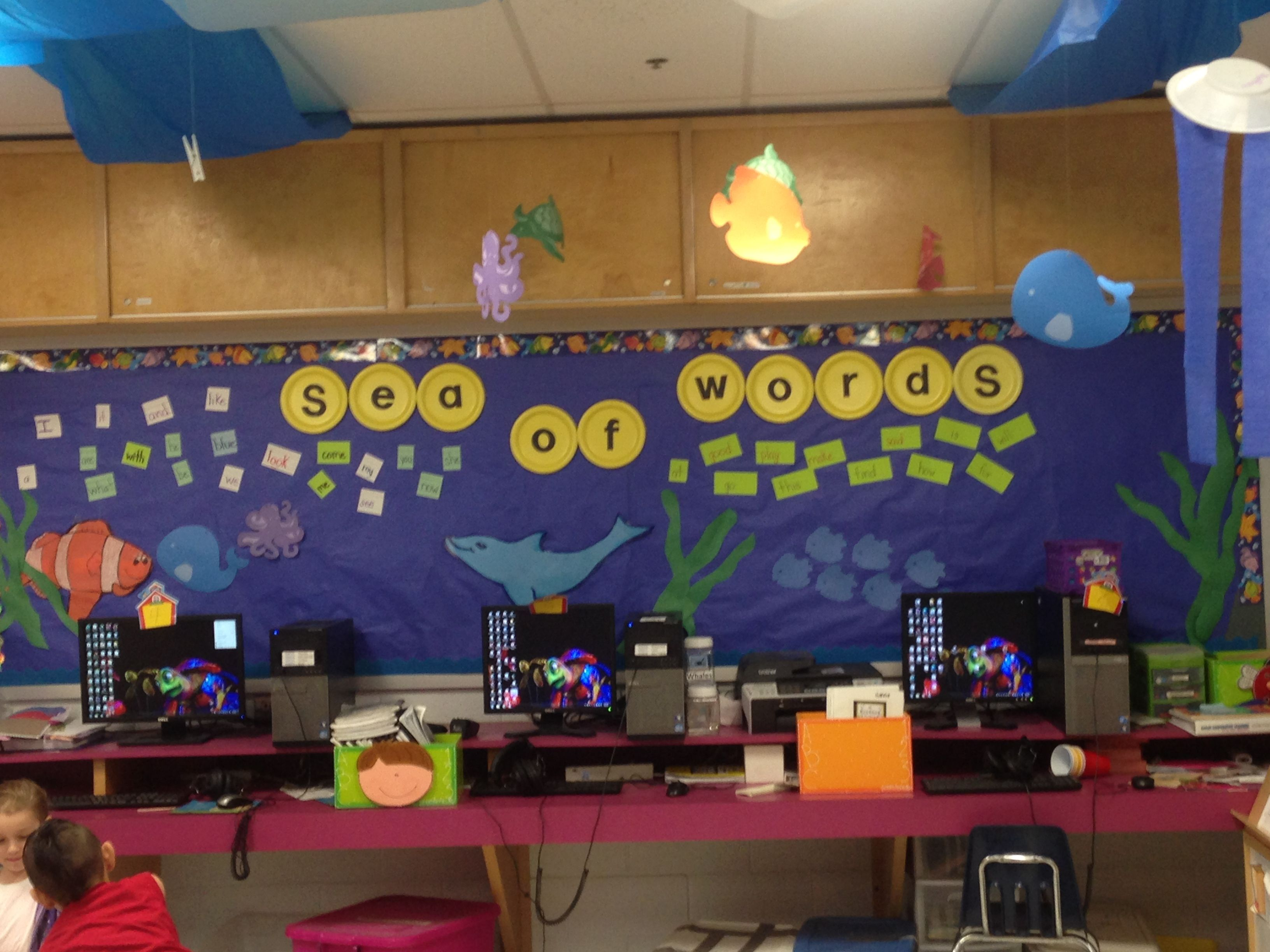 Classroom Decor Under The Sea : Check out my under the sea theme for classroom thanks