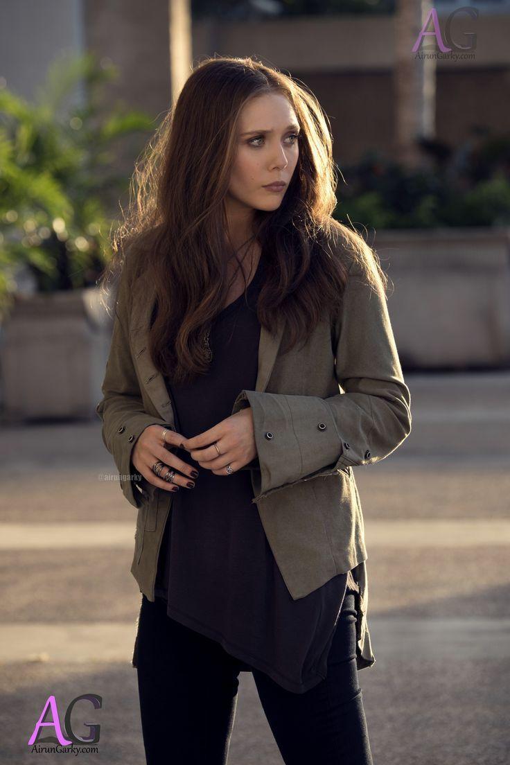 Elizabeth Olsen As Scarlet Witch Wanda Maximoff From