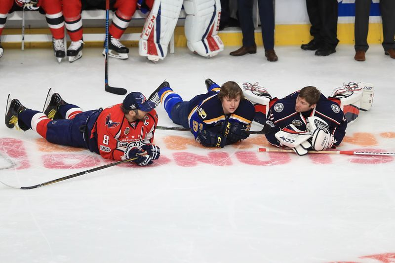 Sergei Bobrovsky at 2017 All-Star Game / Photo by Sean M. Haffey - Getty Images