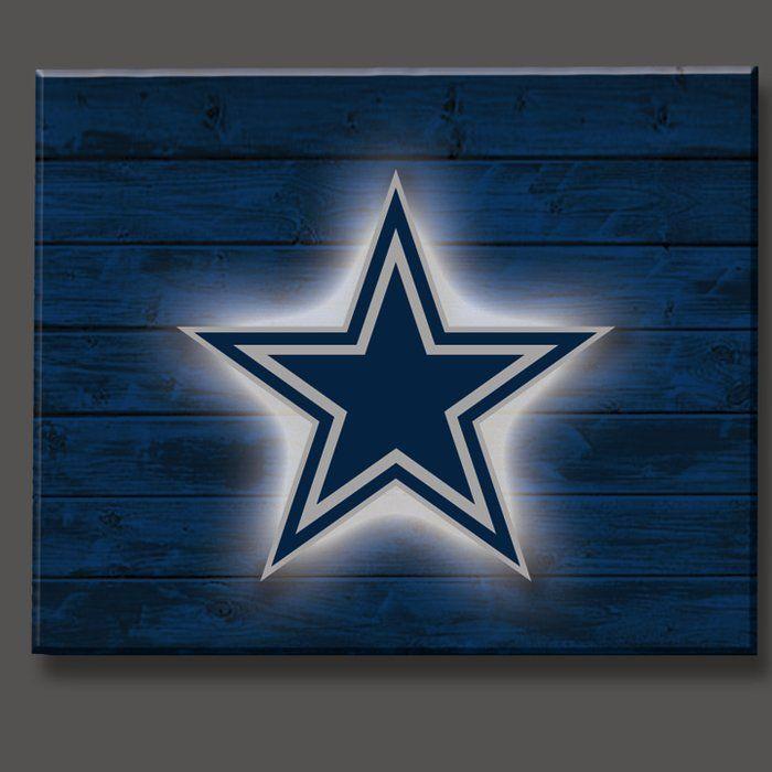NFL Lit Wall Décor Dallas cowboys decor, Dallas cowboys