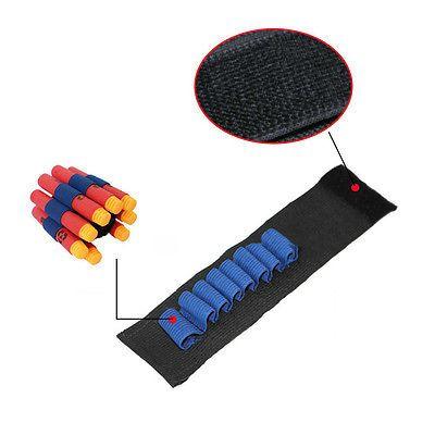 2pcs Safety Elastic wrist band storage soft bullets Children toy Gun For  Nerf