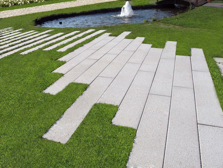 Riga Pavimentazione da giardino, Garden floor