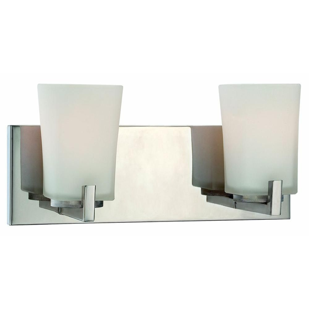 shop vanity lowes roth standard merington lighting light pin allen at brushed bathroom nickel