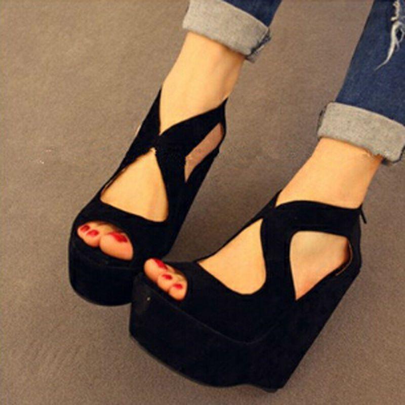diseño atemporal e0e3d 3affb plataformas negras - Buscar con Google | zapatos ...