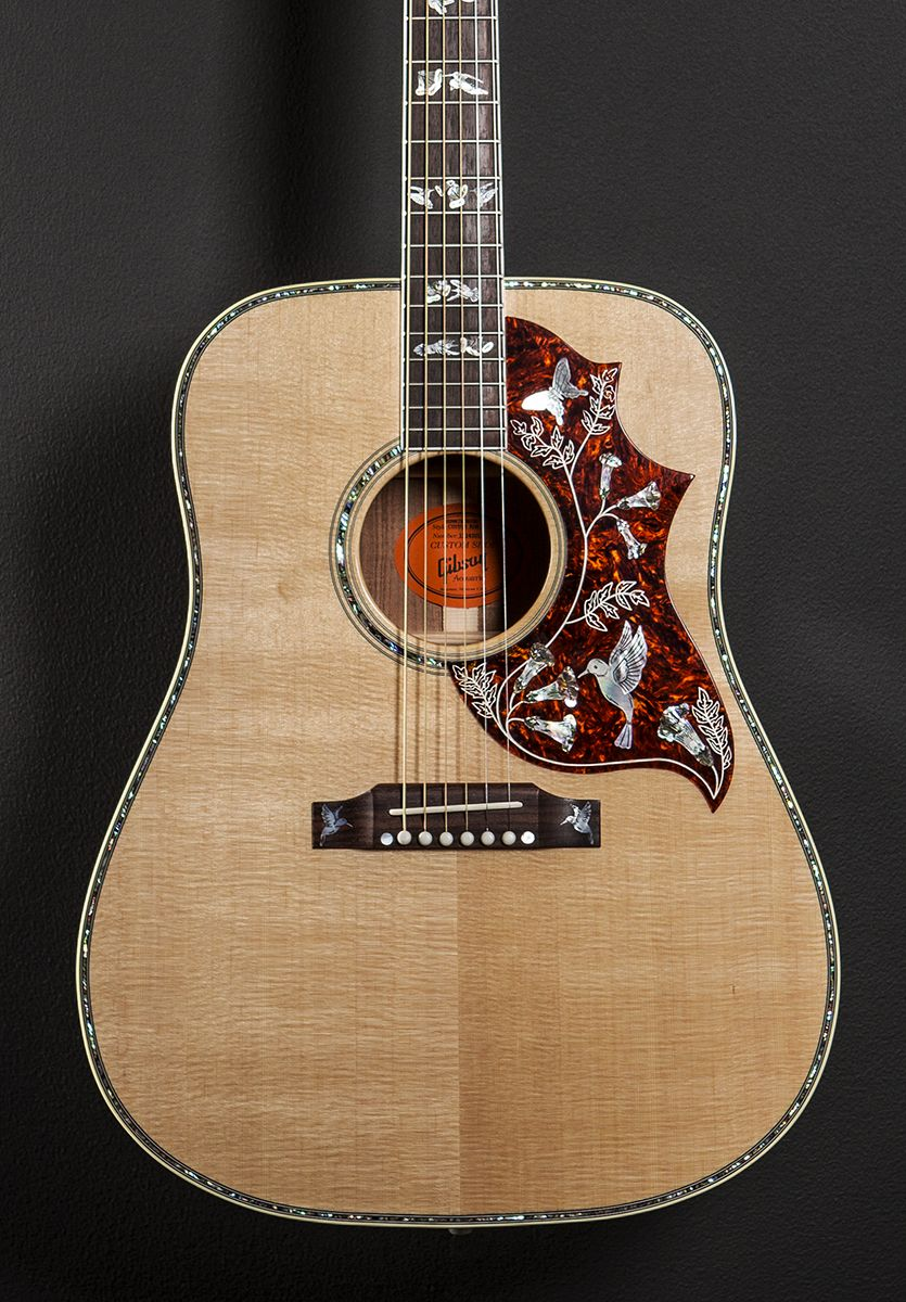Gibson Hummingbird Acoustic Guitar Guitar Acoustic Guitar Guitar Inlay