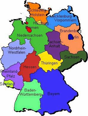 German For Beginners Deutsch Fur Anfanger Die Bundeslander