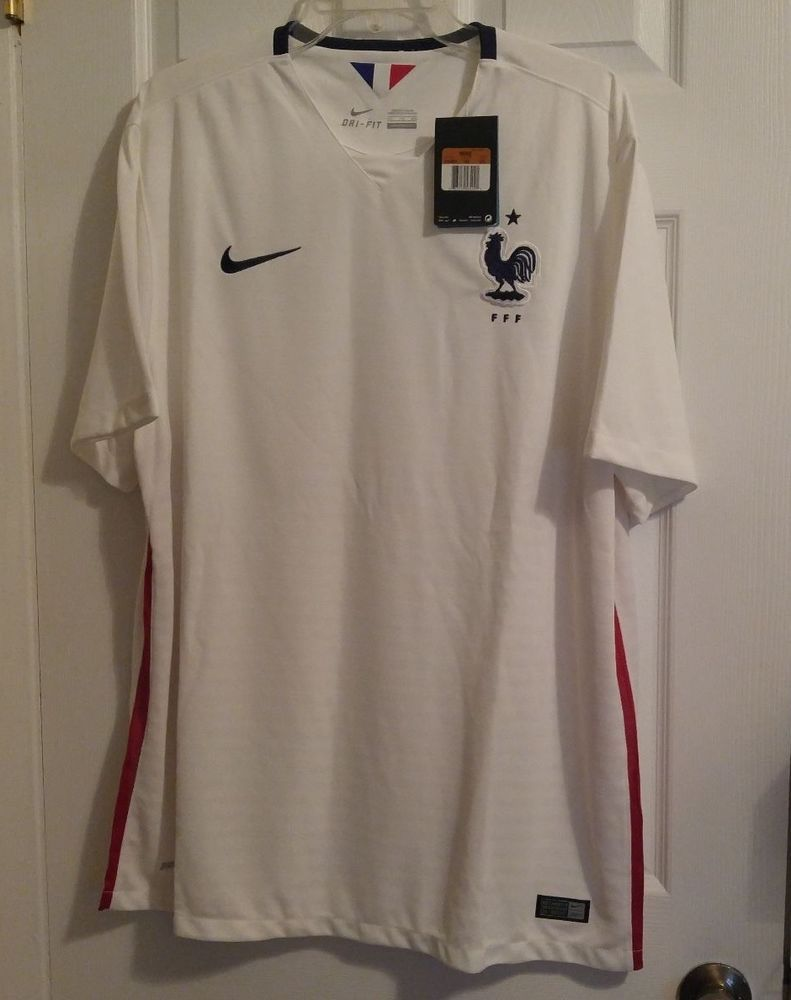 NEW Nike Dri-Fit France National Team Stadium Soccer Jersey Men s 2XL  640851 FFF  Nike  France ce6dc662c