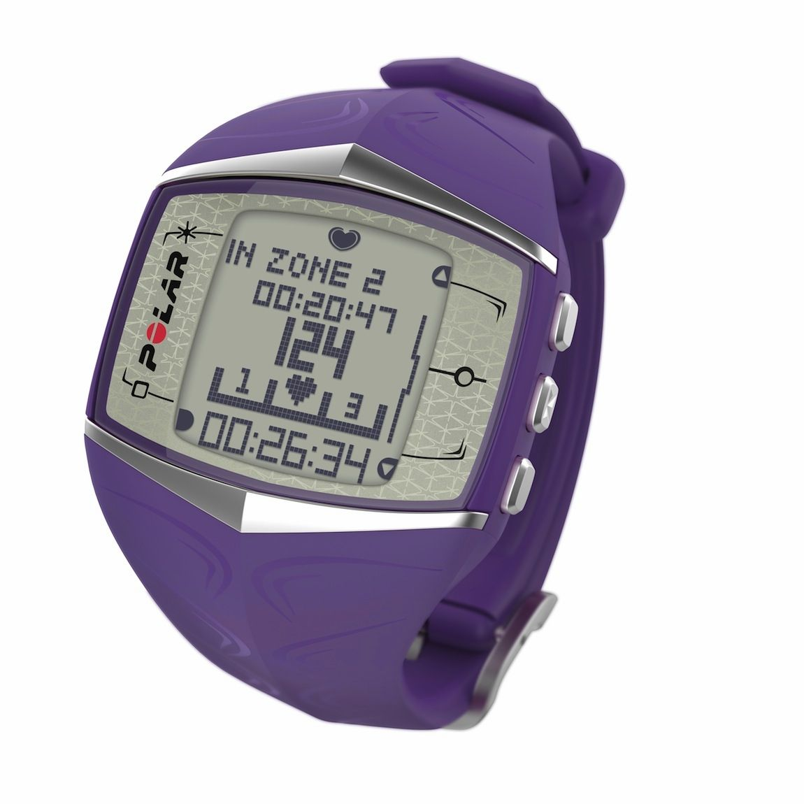 Polar Heart Rate Monitor FT60 Lilac (Female) Fitness