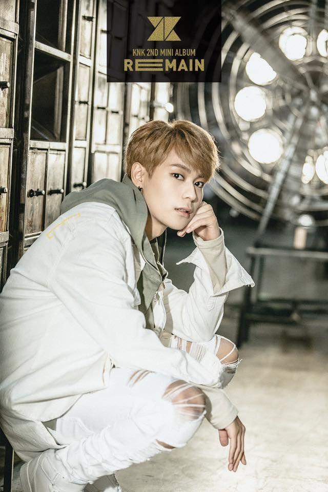Knk Comeback 2016 Knk 2nd Mini Album Remain Knk Kpop Profile Knk Seungjun Seungjun Jyp Knk Kpop Members Knk Dance Mini Albums Korean Bands Boy Music