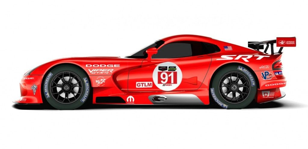 Racing Vipers To Wear Le Mans Winning Dodge Livery Again Dodge