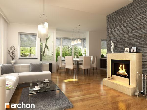 Immagine interni casa in papavero dream house in 2019 for Case moderne interni immagini