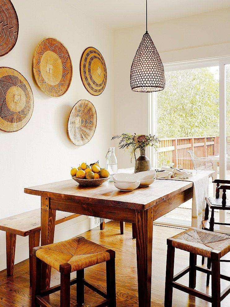 The Next Big Interior Dcor Trends to Watch Earthy Wall decals