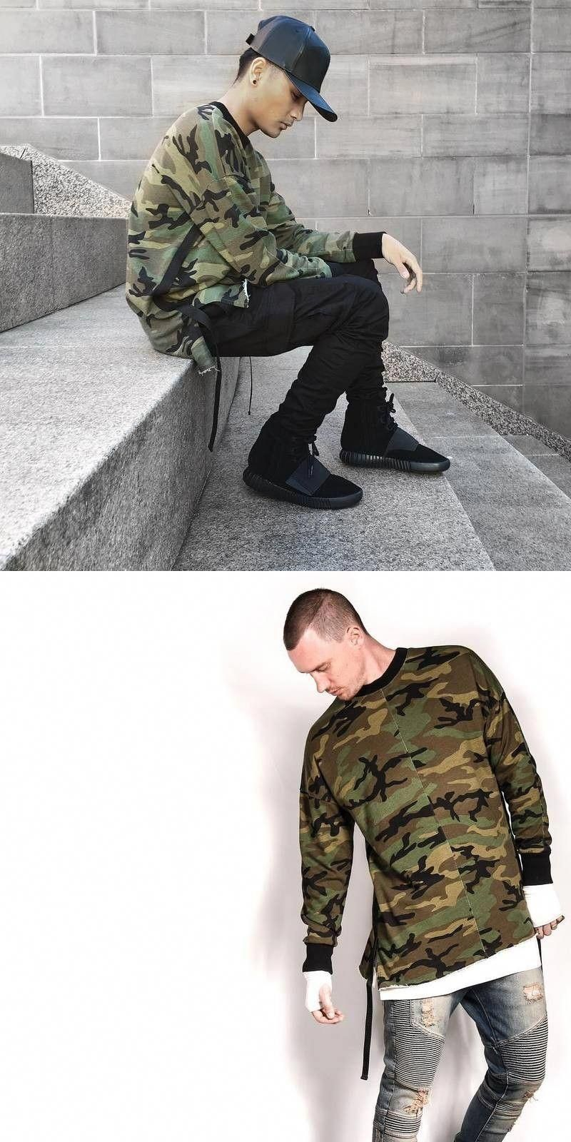698ec522fbaa7 2017 hip hop justin bieber clothes street wear kpop urban clothing men long  sleeve longline t