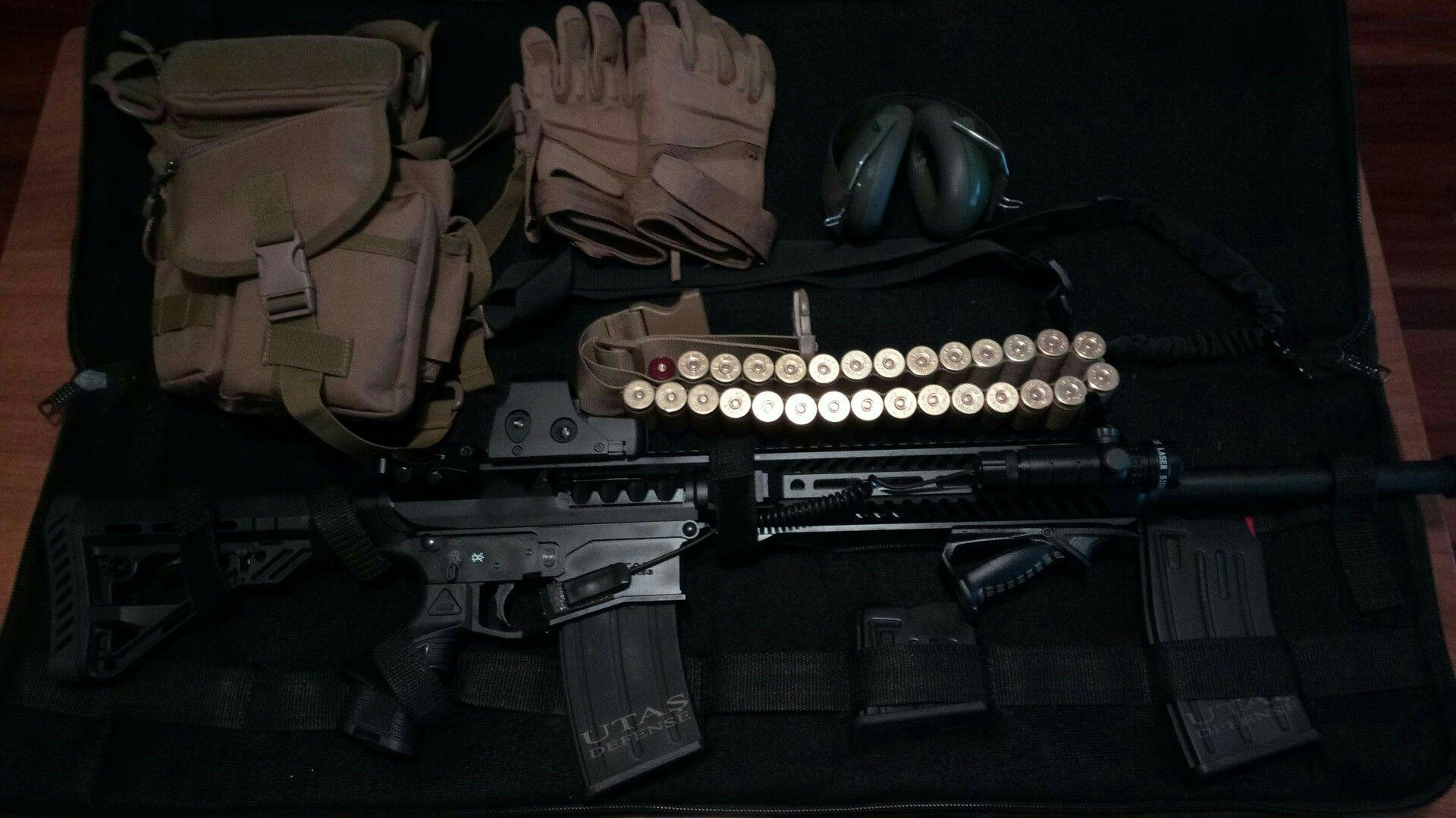 UTAS XTR 12 España  | La barredora! | Guns, Firearms