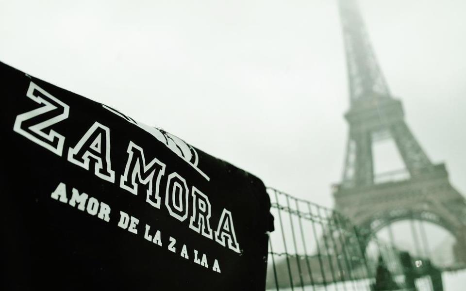 París, Zamora está contigo ♥