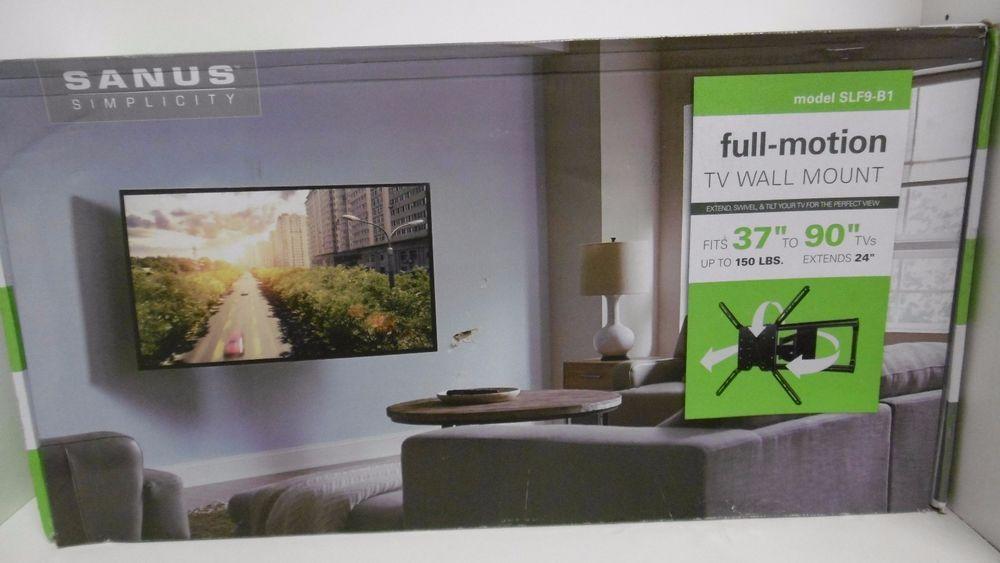 sanus simplicity model slf9 b1 full motion tv wall mount fits 37 - Sanus Full Motion Tv Wandhalterung