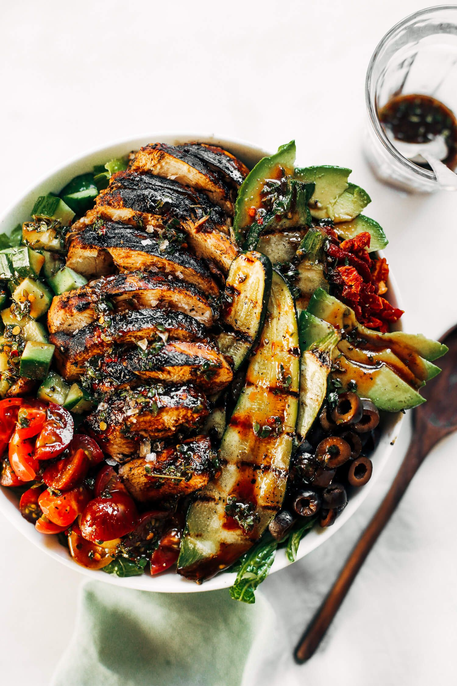Whole30 Balsamic Grilled Chicken Salad images