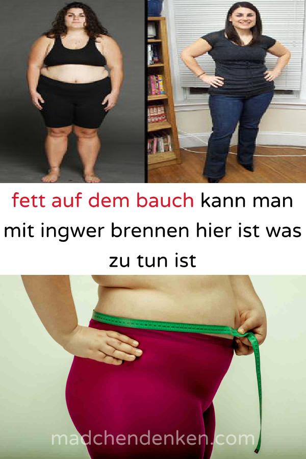 Wie man Fett im Bauch verliert