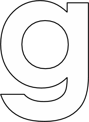 Letter G Kleurplaat Google Search School Pinterest Lettering