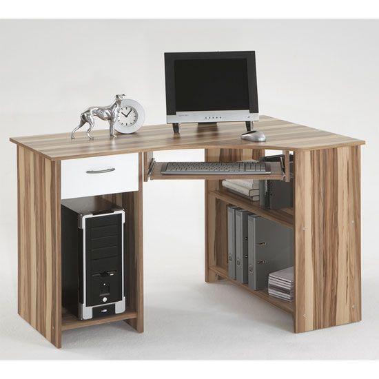 Felix Home Office Wooden Corner Computer Desk In Baltimore
