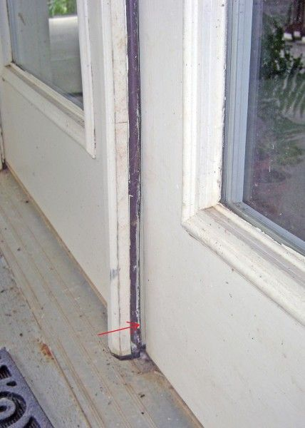 Exterior French Doors Bent Astragal in Need of Repair & Exterior French Doors: Bent Astragal in Need of Repair | Handy Mandy ...